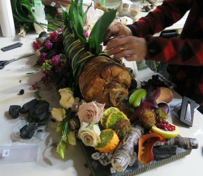 "Is that really Gillian Anderson's leg? No, but food stylist Janice Poon poured her heart into this final dish for NBC's ""Hannibal."" (Photo courtesy of Janice Poon.)"