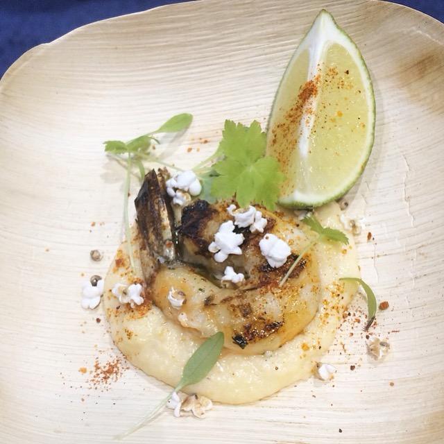 shrimp and sorghum