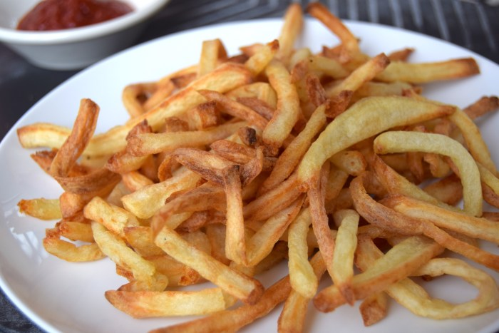 Which oil should i use to make fries food republic for Different ways to cook russet potatoes