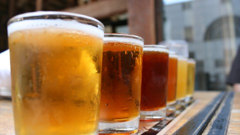 Belly button fluff beer. What will they think of next? (Photo: quinndombrowski/Flickr.)