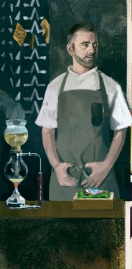 Illustration of Loco chef Alexandre Silva