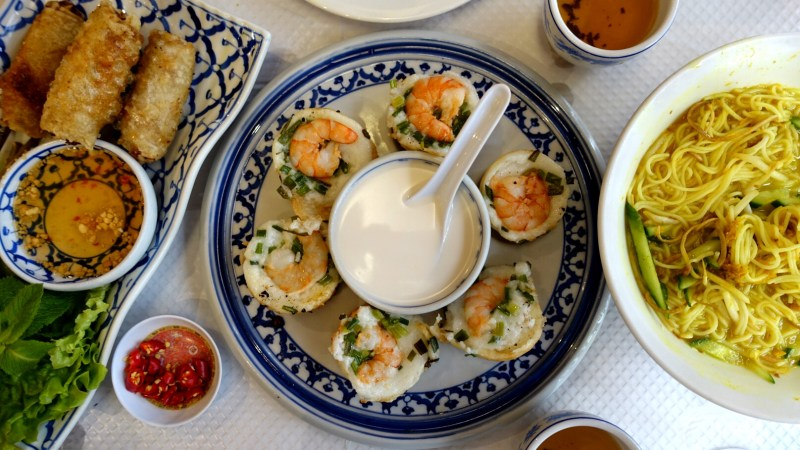 In Paris's Chinatown, one can find a plethora of Asian eats, such as Hang Meas, slinging Cambodian classics. (Photos: Deana Saukam.)