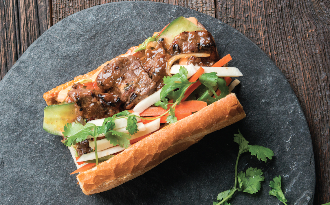 Bánh Mì With Tropical Marinated Flank Steak – Food Republic
