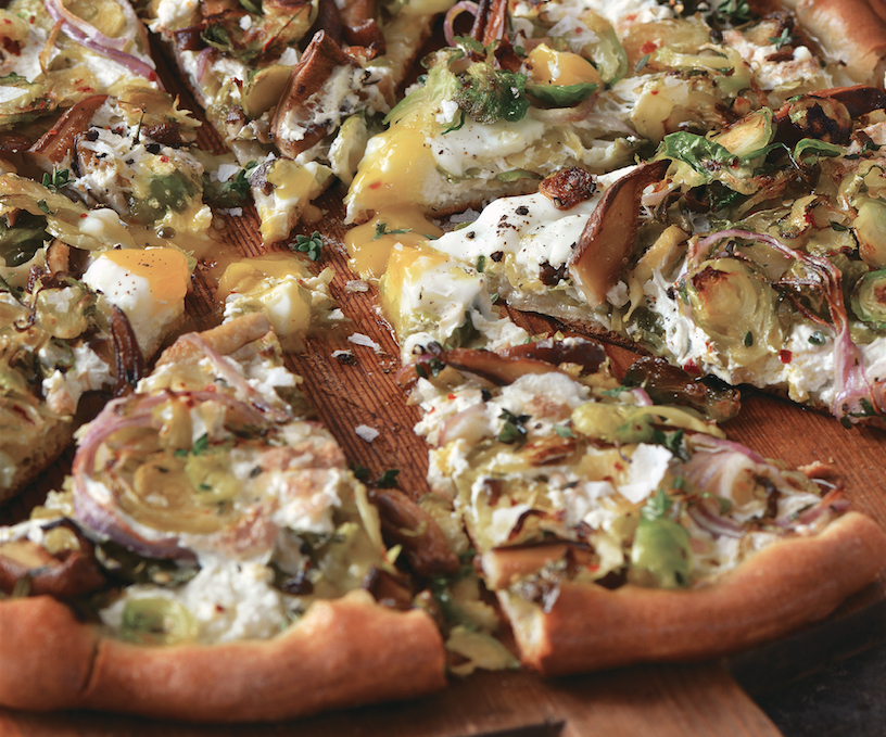 "... The Vegetable Butcher's Shiitake ""Bacon"" Pizza – Food Republic"