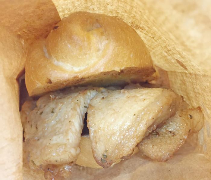 The Michelin-rated pork chop bun. (Photo: Keith Flanagan.)