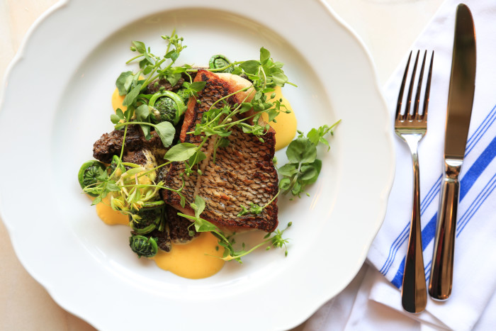 "Giffen's beautiful, Instagrammable dishes must pass the ""Dad test."" (Photo: Katie Burton.)"