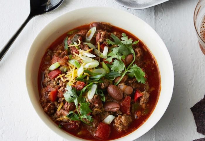 classic meet chili recipe