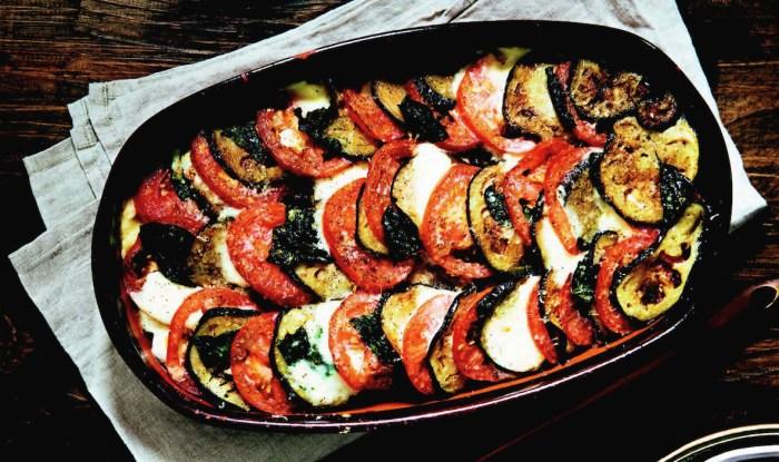 layered eggplant parmigiana recipe