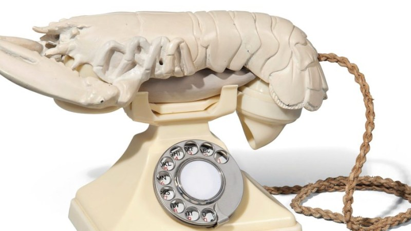 salvador dali lobster phone auction
