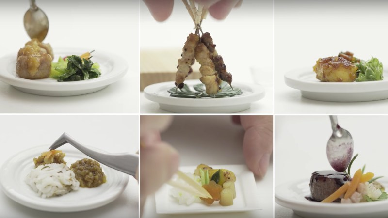 singapore airlines tiny cooking video
