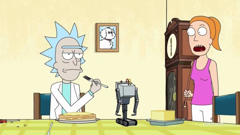 rick morty butter robot