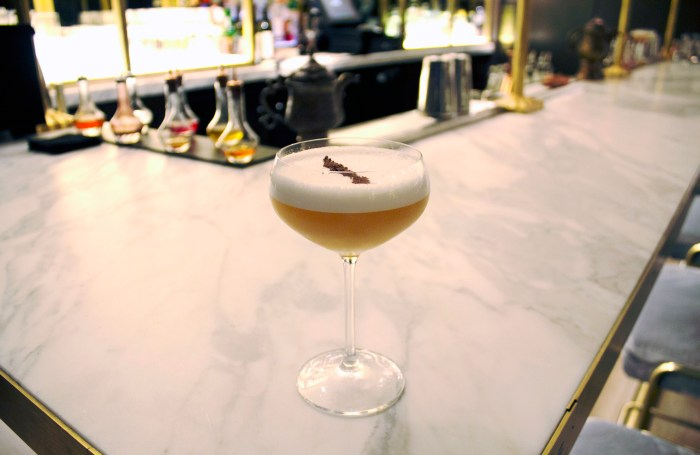 aquafaba cocktail