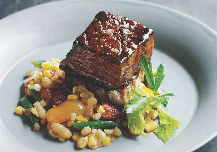 Sherry-Glazed Pork Belly