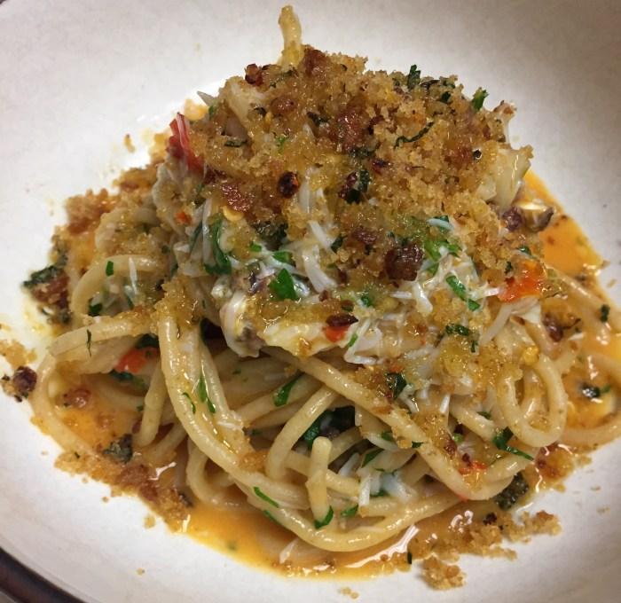 stone-crab spaghetti