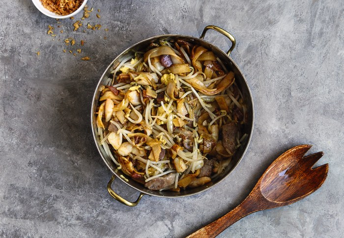 how to make char kway teow