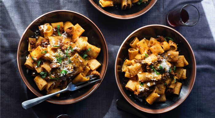 Rigatoni With Merguez