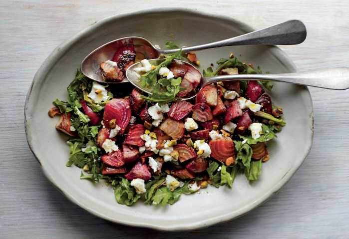 This Pistachio And Beet Salad With Goat Cheese Is A French Favorite