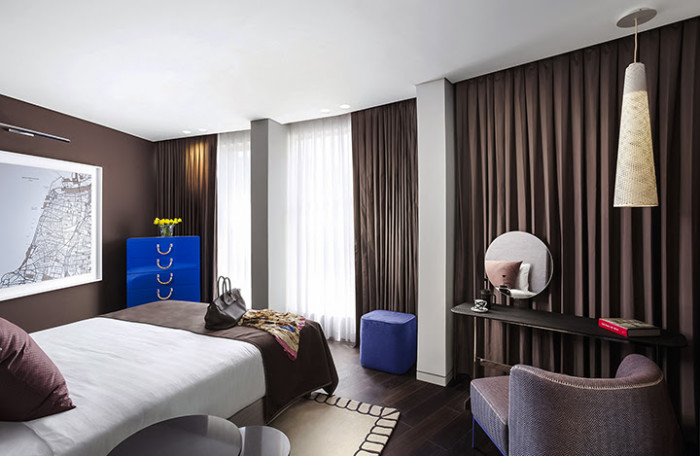 A room at Hotel 65. (Photo courtesy of Hotel 65.)