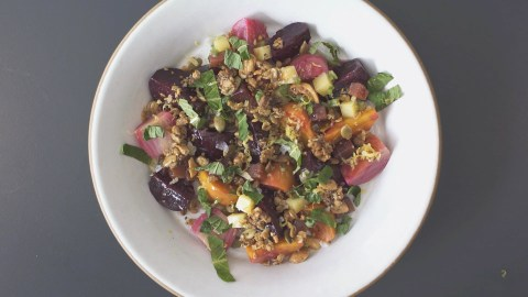 dan kluger loring place roasted beet salad