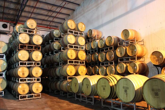 Recanati produces 1 million bottles annually. (Photo: Tiffany Do.)