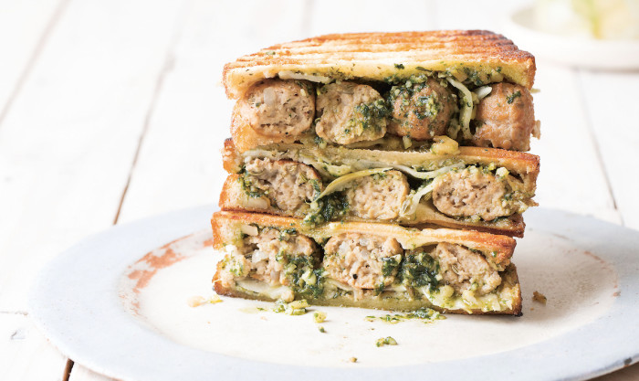 Pork Meatball Melt