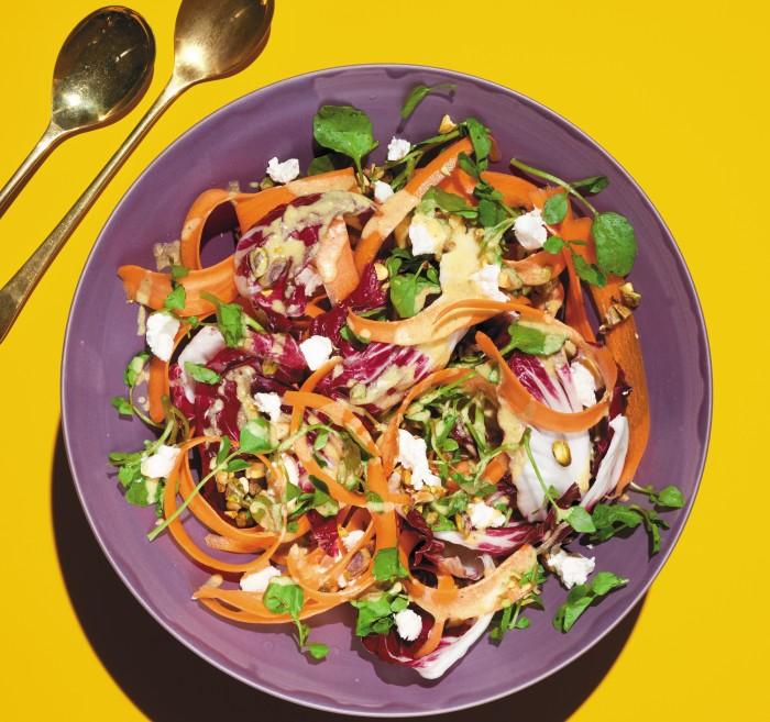 Carrot And Radicchio Salad