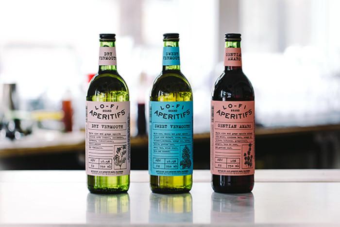 Lo-Fi aperitifs bottles