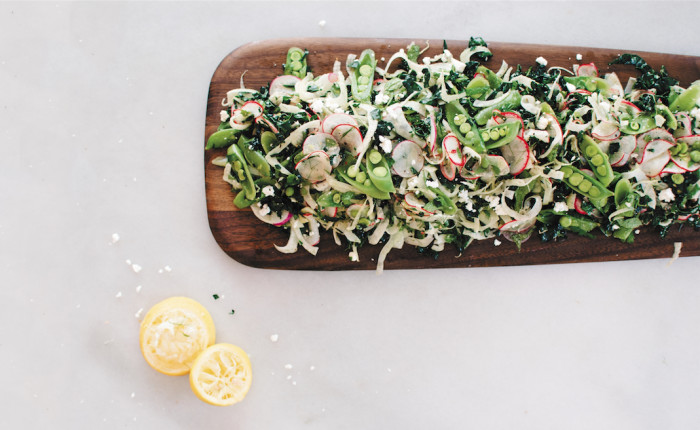 Radish And Kale Salad