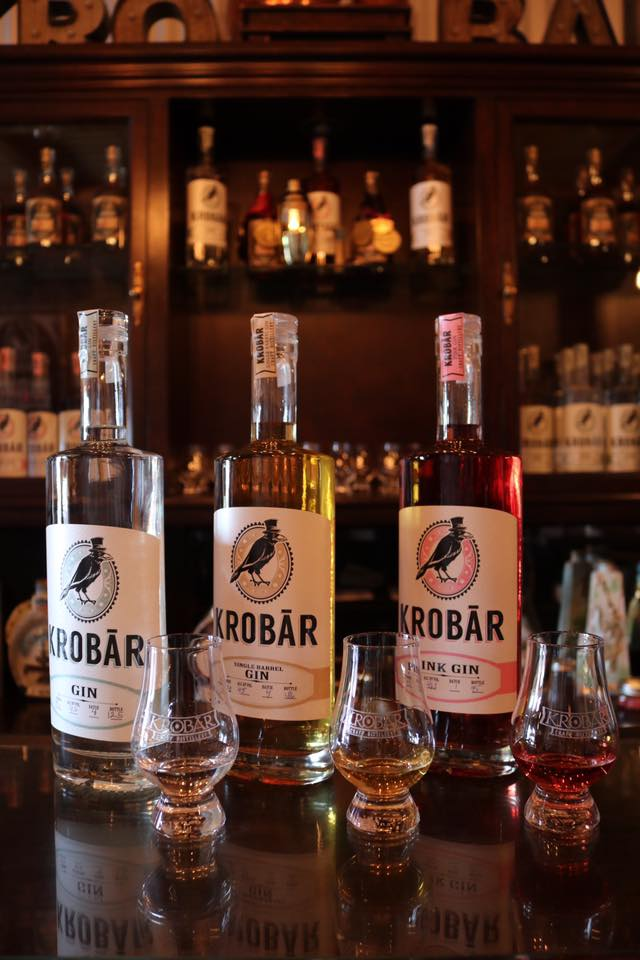 Krobar Distillery doesn't make your typical gin. (Photo: Krobar Craft Distillery/Facebook.)