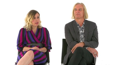 Corin Tucker and Peter Buck talk pretzel sandwiches