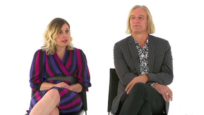 Corin Tucker and Peter Buck talk pretzel sandwiches