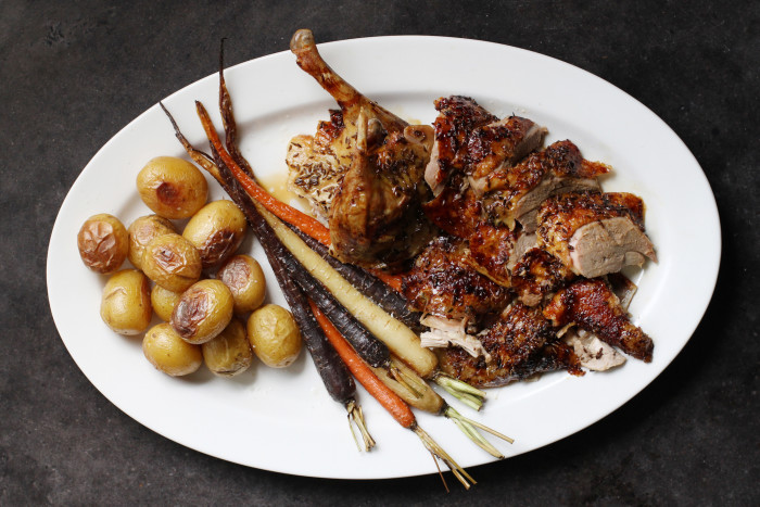 Roast Duck With Caraway
