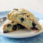 Blueberry Banana Scones
