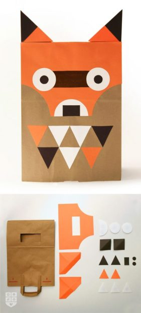 Paper Bag Fox - Wee Society