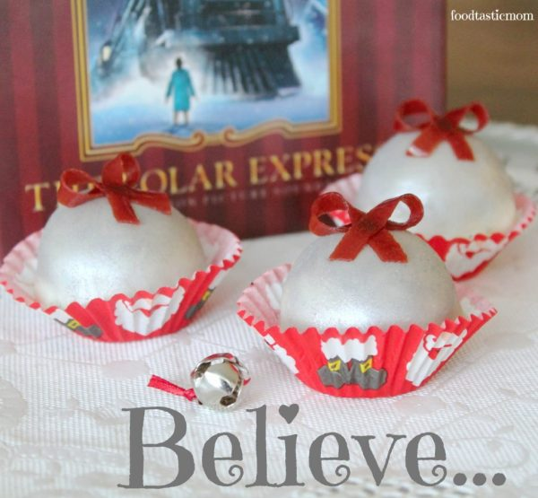 Polar Express OREO Cookie Balls