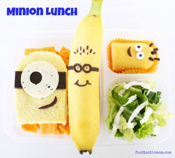 Minion Lunch for Kids