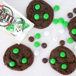 Double Chocolate Cookies with Coconut M&M's
