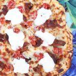 Kentucky Hot Brown Pizza