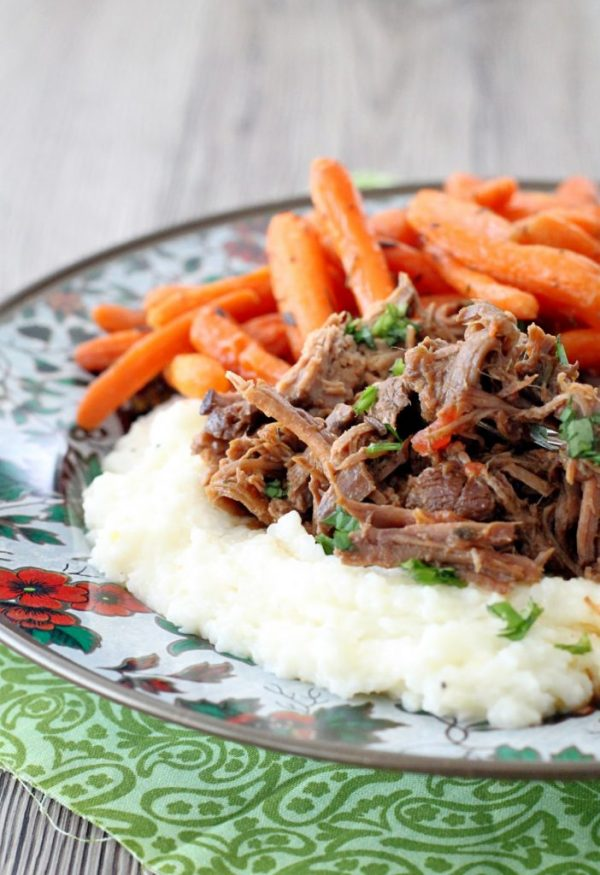 Italian Pot Roast - Foodtastic Mom