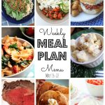 Weekly Meal Plan (May 16 – 22)