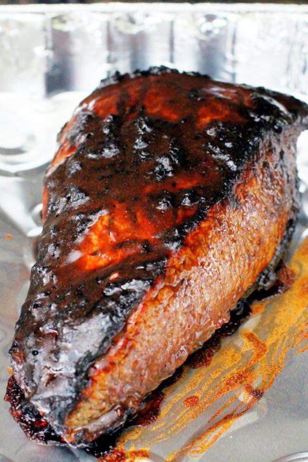 How to Grill Brisket by Foodtastic Mom #MyKCMasterpiece #CBias