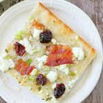 Bacon Bourbon Cherry Pizza