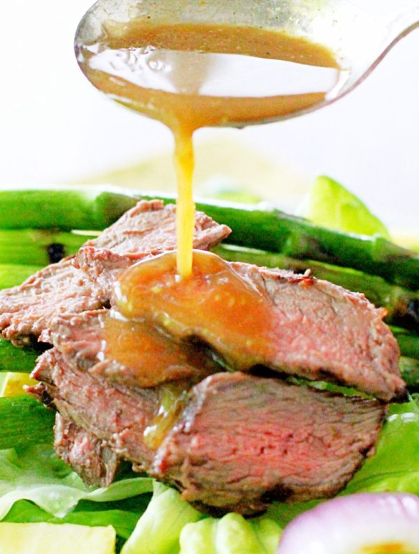 steak salad with pineapple ginger dressing recipes grilled steak salad ...