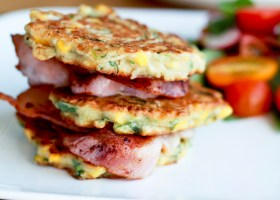 BACKGROUND CORN FRITTERS