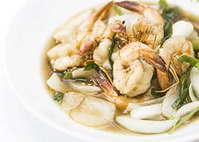 Recipe Room » Prawns in garlic & pepper sauce