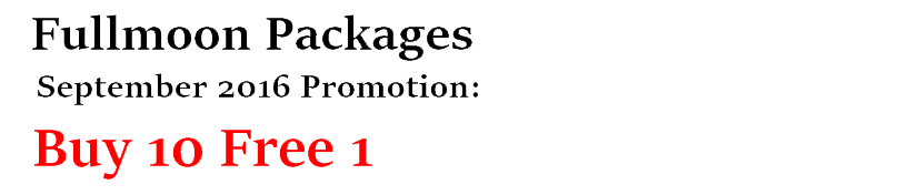 September 2016 Promotion Buy 10 Free 1