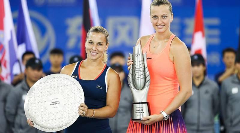 پترا کویتووا به قهرمانی اوپن ووهان 2016 رسید