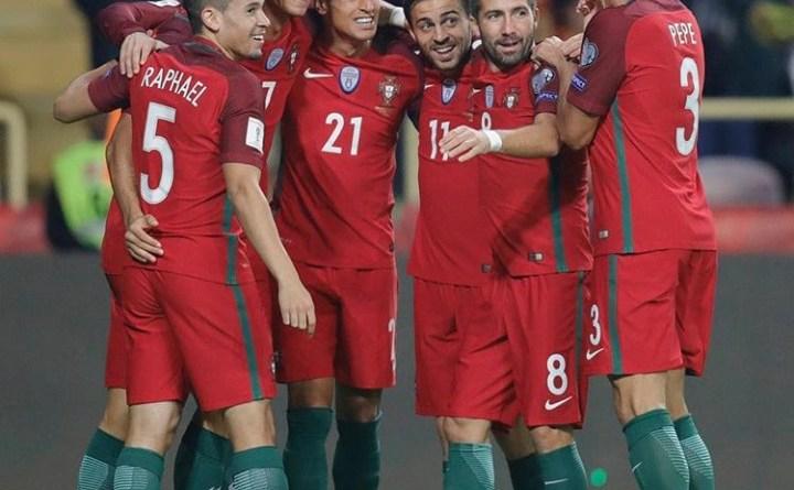 خوشحالی رونالدو که با زدن 4 گل به تیم ملی بازگشتم