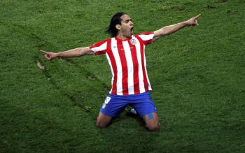 Radamel Falcao García Zárate (10 February 1986), commonly known simply as Falcao, a name given to him by his father as a tribute to the Brazilian coach Paulo Roberto Falcão, is a Colombian football striker, who currently plays for Atletico Madrid and represents the Colombia national football team. Falcao is sometimes nicknamed as El Tigre (Spanish for The Tiger) and King of the Europa League. Falcao is considered by many experts to be the 'deadliest' striker in the world and among the best, having surpassed Jürgen Klinsmann's record of 15 goals (17) in a single annual international club football European competition UEFA Champions League/UEFA Europa League campaign. He also played a key role in guiding Porto to a second UEFA Cup/UEFA Europa League title, as well as finishing undefeated in the 2010–11 Primeira Liga season. In July 2011, Falcao was regarded as the fifth best player in Europe during the 2010–11 season through balloting by 53 sportswriters of the UEFA member associations. Falcao had also received the Portuguese Golden Ball award in 2011, becoming the first Colombian to do so. Falcao had won both the GQ Spain award for sportsman of the year and the Globe Best Footballer in 2012. In 2012, Falcao was listed 6th in The 100 best footballers in the world by The Guardian. Falcao was listed into the FIFA XI for 2012.