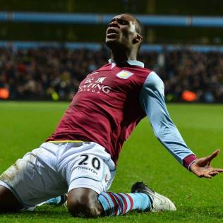 Christian Benteke, the Aston Villa striker was a massive reason why Villa stayed up. He scored big goals while also putting in big performances.